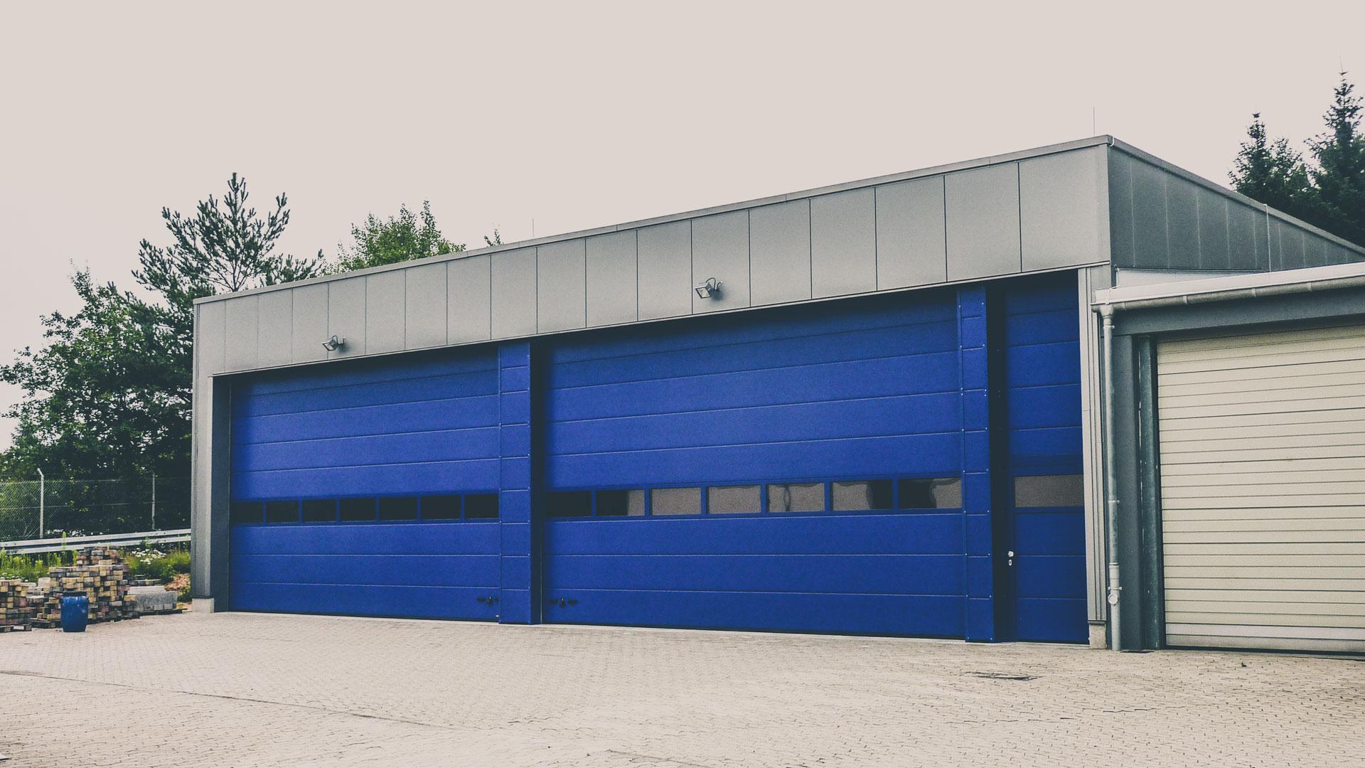LKW Garage Neubau