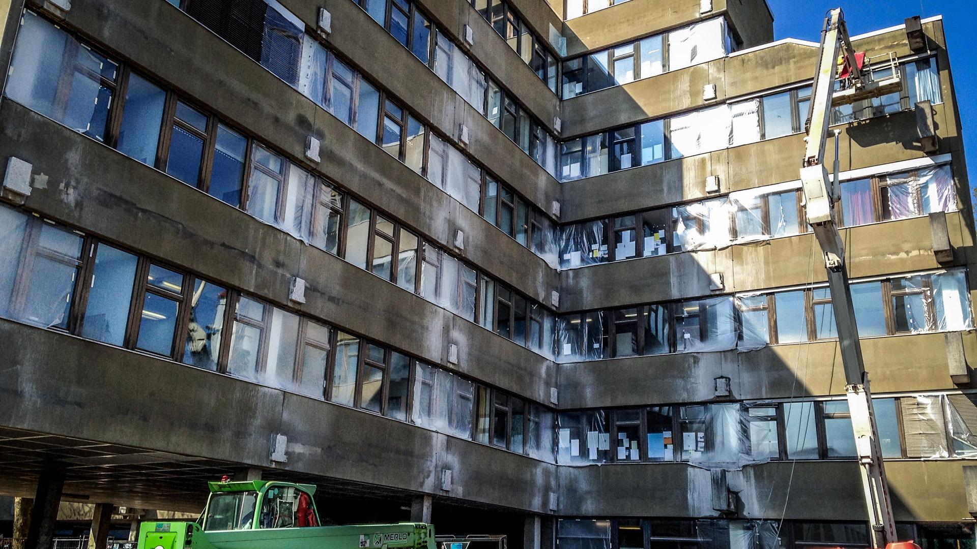 Gebäudesicherungsmaßnahmen Architekturbüro Saarland
