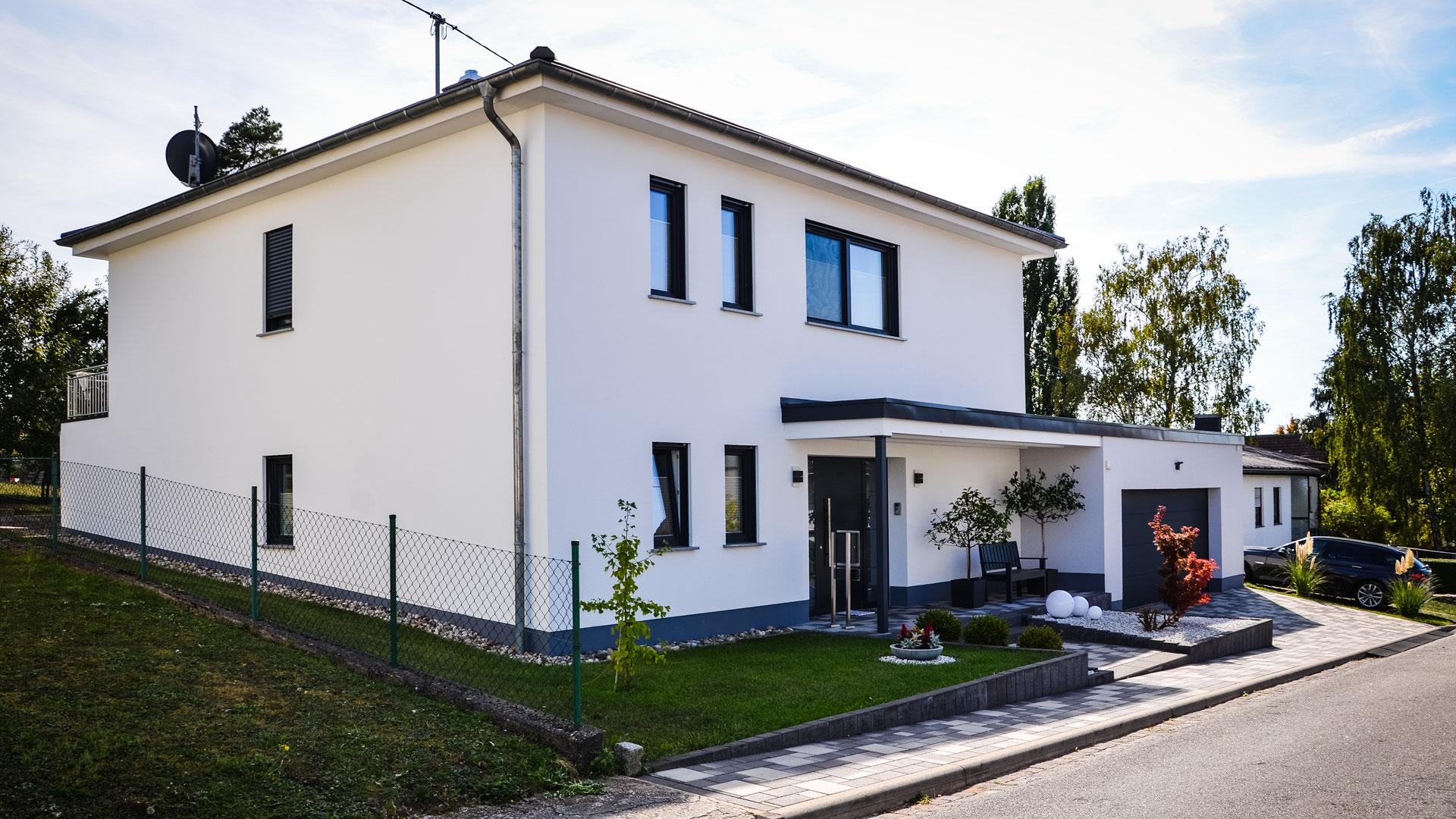 Neubau Einfamilienwohnhaus Architekt
