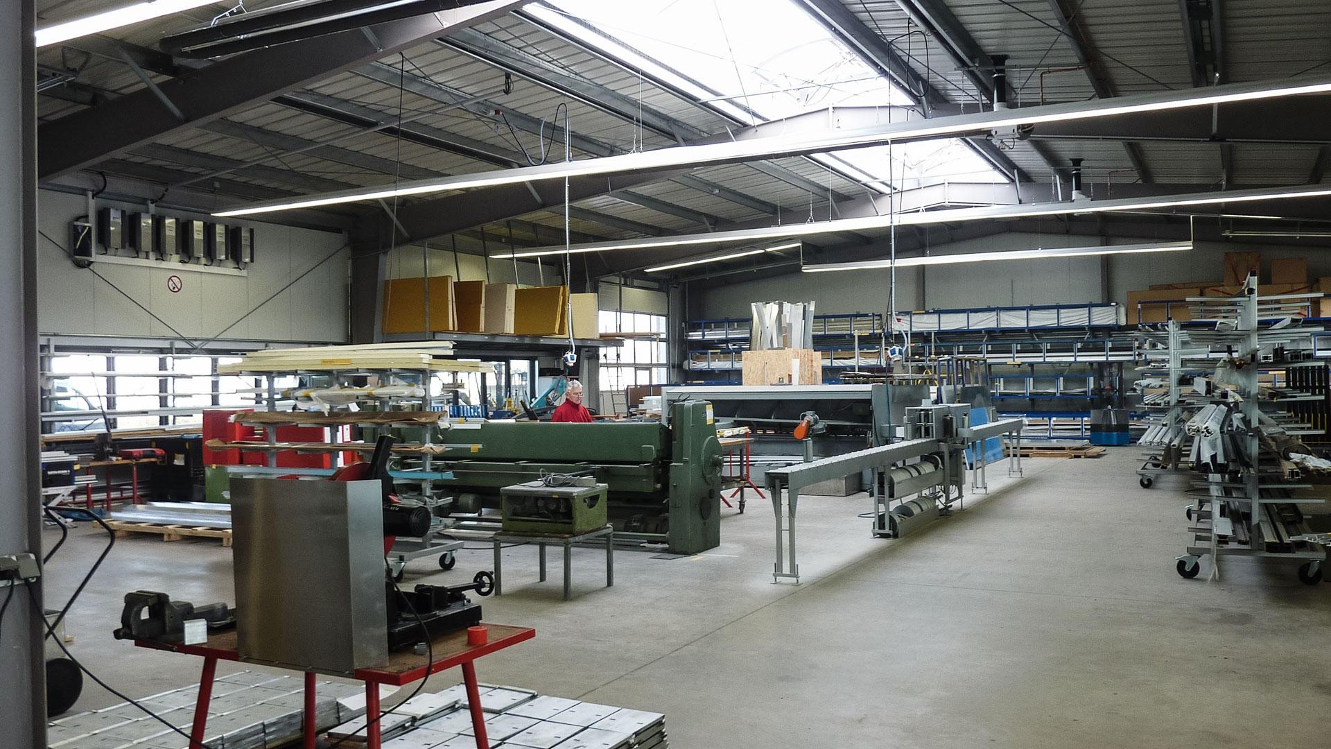 Produktionshalle Architekt